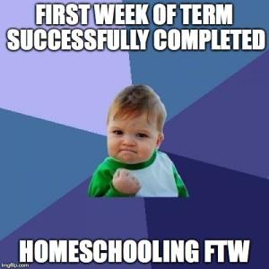 first-week-homeschooling-ftw