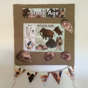 stone-age-bulletin-board-with-twinkl-resources