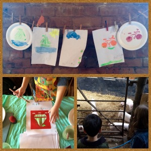 painting-stencils-farm-field-trip