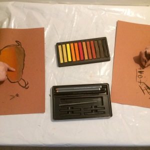 using-soft-pastels-and-charcoal